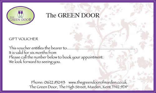 Gift Vouchers - Green Door