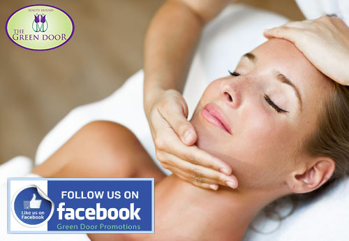 Find our latest promotions on facebook
